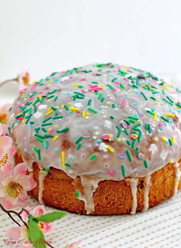 Mini Paska Easter Bread Recipe (Cupcake Size Paska - Kulich)