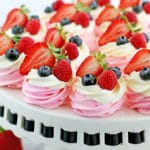 Berry Meringue Baskets Recipe
