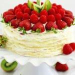 Fruit Crepe Cake Recipe