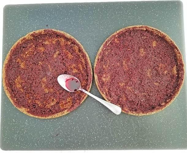 Drunken Cherry Cake Recipe