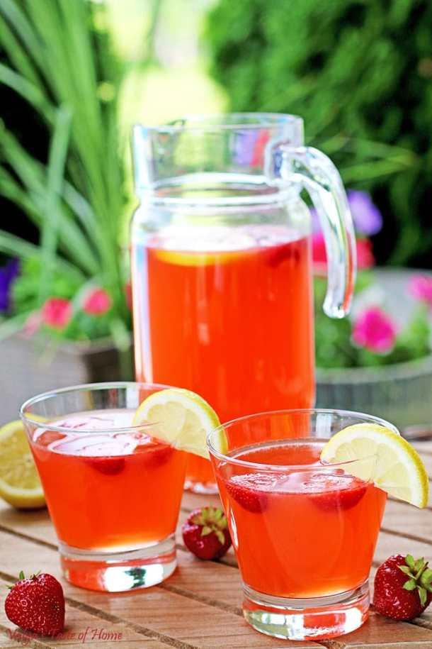 Natural Strawberry Lemonade Recipe