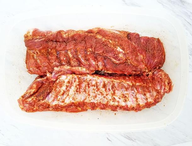 Tender and Juicy Sweet BBQ Baby Back Ribs