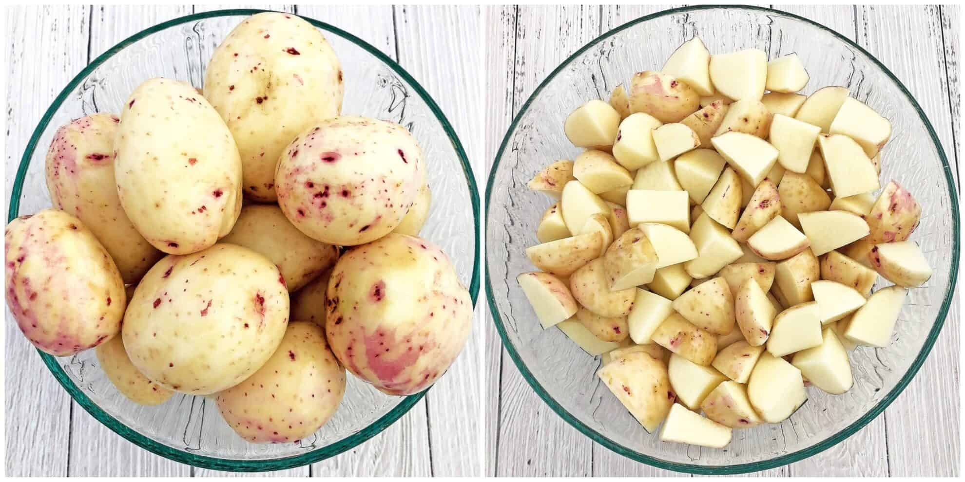 easy dinner, family favorite, garlic, homegrown red potatoes, Homemade Ranch Dressing, Instant Pot dish, Instant Pot Garlic Parmesan Ranch Potatoes Recipe, kid approved dinner, main course, Parmesan cheese, party friendly dish, red potatoes, young red potatoes