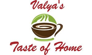 Valya's Taste of Home logo