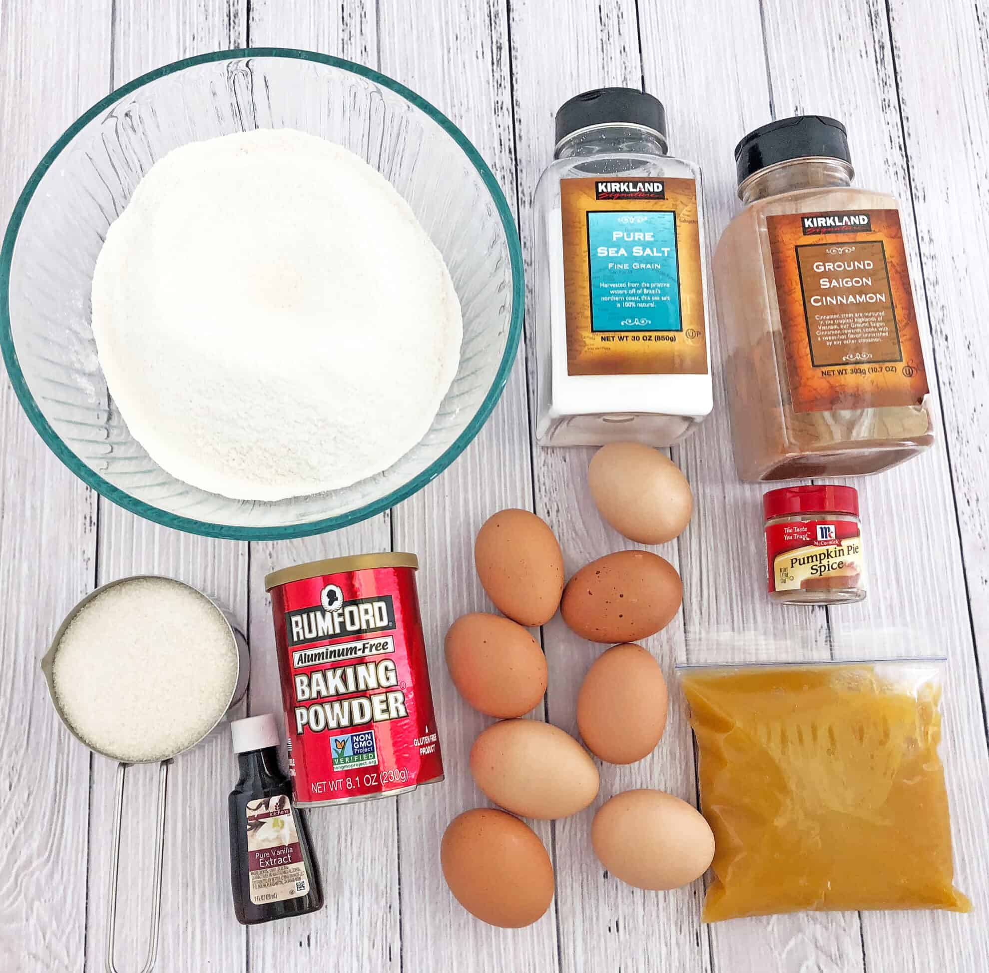 Ingredients for the Tiramisu Pumpkin Cake Recipe #pumpkintiramisucake #fallbaking #easycakerecipe #valyastasteofhome