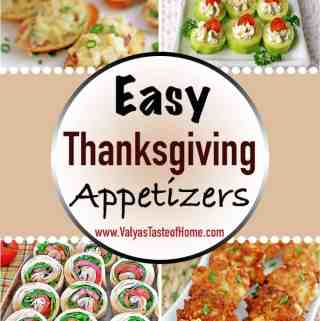 It's that time of the year again, believe it or not, where we start planning our Thanksgiving menu! In today's Easy Thanksgiving Appetizers post, I pieced together incredibly delicious and easy to make appetizers just for you my friends to help you ease your holiday feast planning and prep.