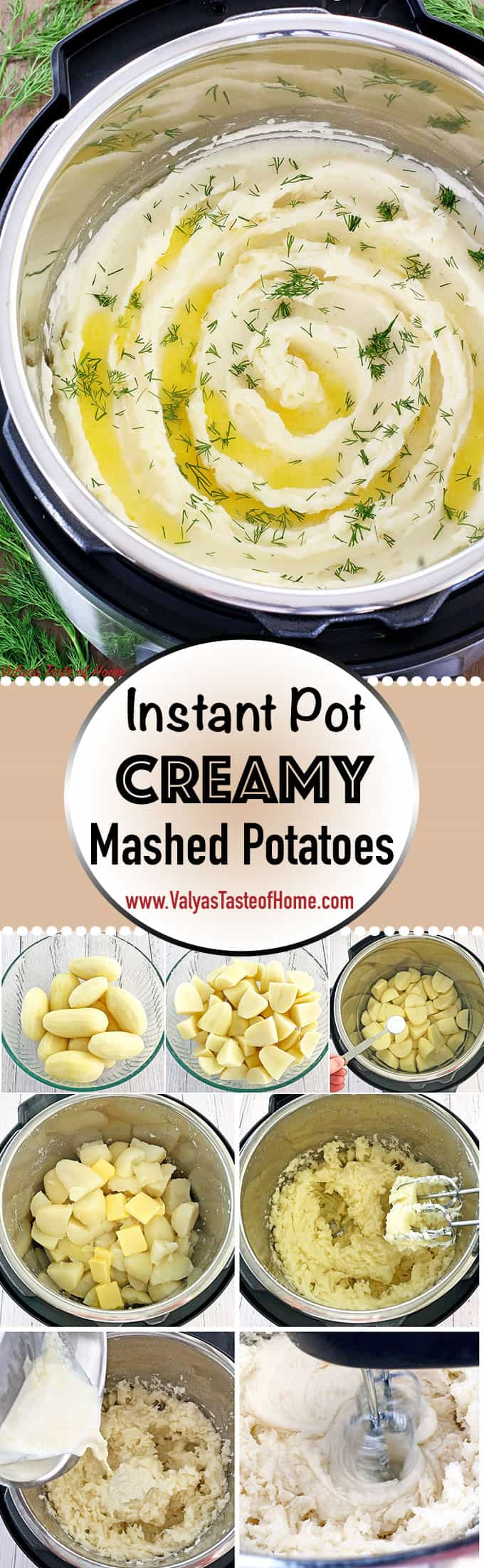 Is there anything more comforting food than Instant Pot Creamy Mashed Potatoes Recipe? Mashed potatoes are also said to be a secondary bread for most people, especially in the countryside I was born. It was as common as bread because kids love it and its very filling. #instantpotmashedpotatoes #creamymashedpotatoes #maindish #comfortfood #valyastasteofhome