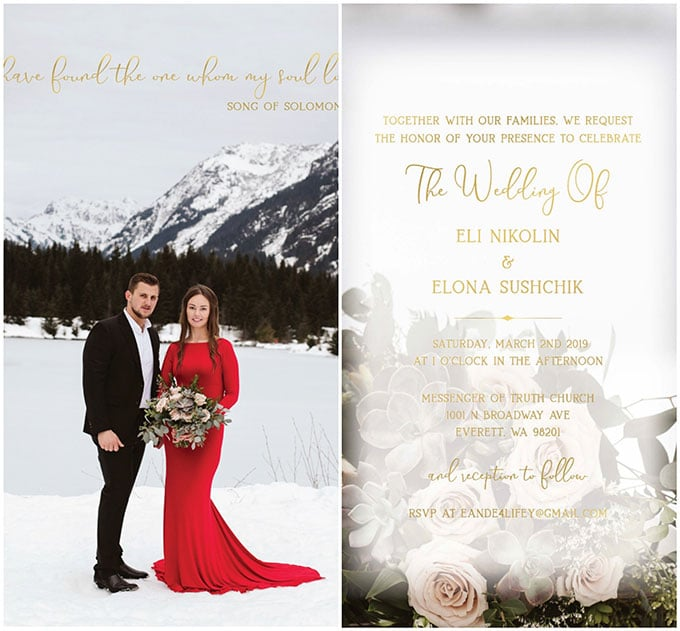 Wedding of Eli and Elona + Planning ​Tips