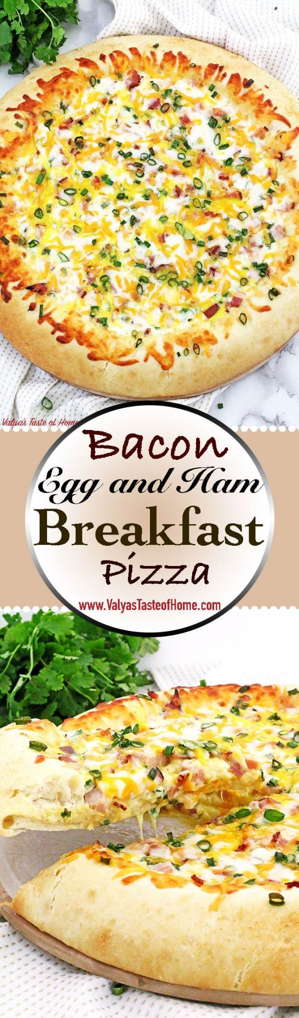 Not much can beat the taste of Bacon, Egg, and Ham Breakfast Pizza Recipe made from scratch for breakfast at my house! Soft homemade pizza dough topped with your favorite breakfast ingredients make it taste so good. Kids will look forward to waking up early knowing what's on the menu, to enjoy the scrumptious slice of the cheese breakfast pizza.
