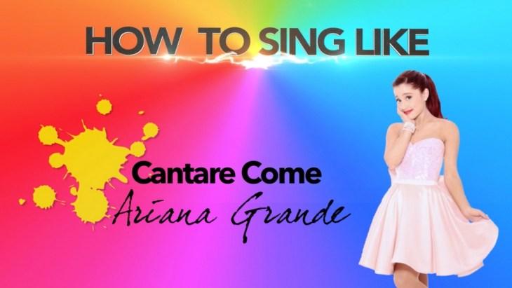 in questo video tutorial di canto la vocal coach valy elle (valeria caponnetto delleani) svela i segreti per cantare come ariana grande