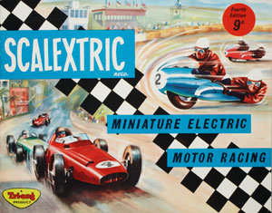 Scalextric, Lines Bros Ltd, England, 1963 copyright Victoria and Albert Museum
