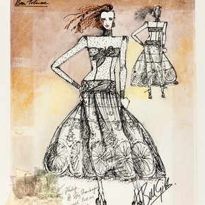 Bill Gibb (1943-88), fashion design, London, 1986. Museum no. E.522-1993