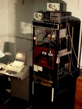 The Slade Computer System, about 1977. Courtesy of Paul Brown