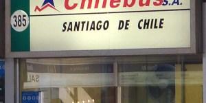 GUICHE DA CHILEBUS - Ônibus do Brasil para Chile – Uma experiência inesquecível por ônibus