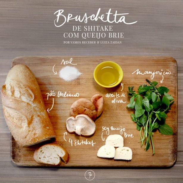 bruschetta shitake