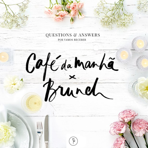 questions and answers - cafe da manha brunch