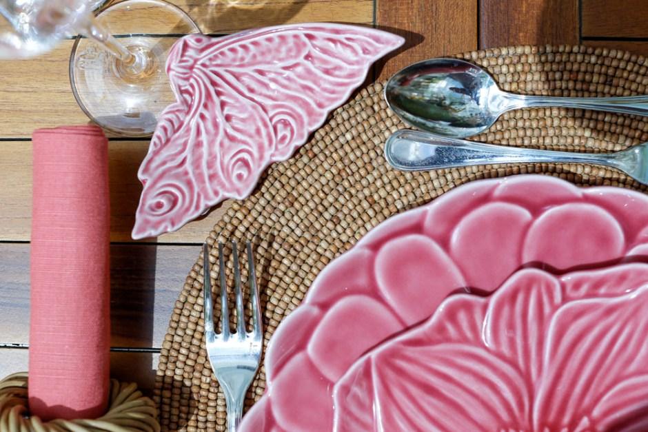 prato de paso rosa borboleta