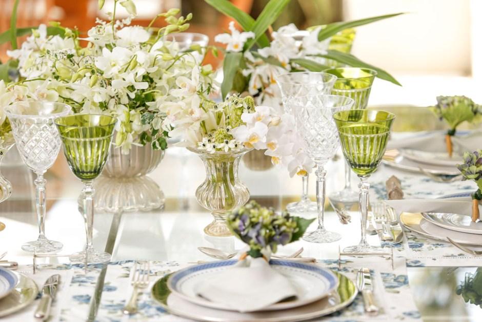 mesa para almoco de dia dos pais