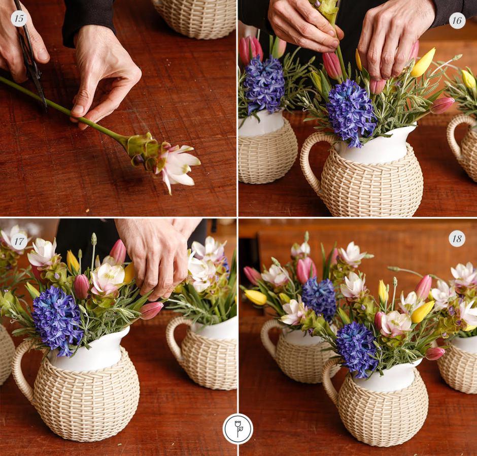 diy arranjos de flores