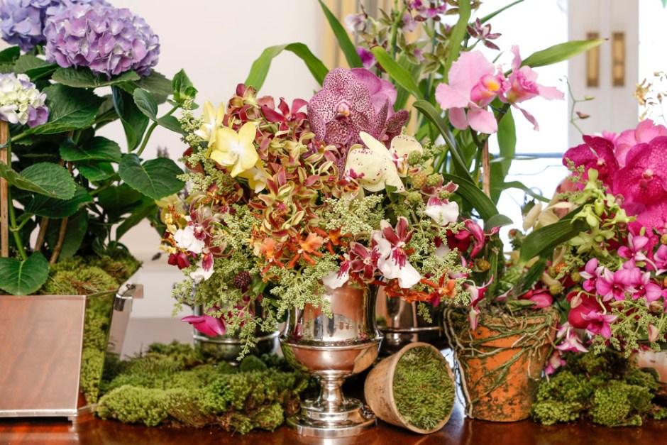 arranjos florais em casos casa das festas