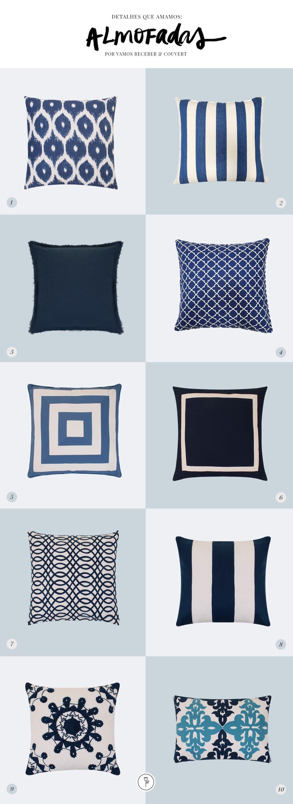 almofadas Couvert
