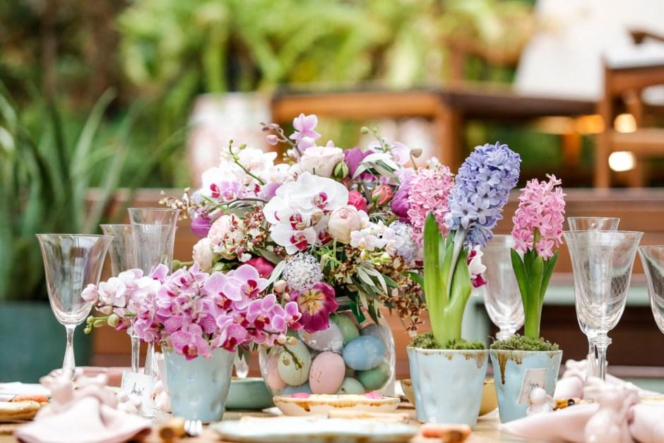 arranjos florais Milplantas para Pascoa