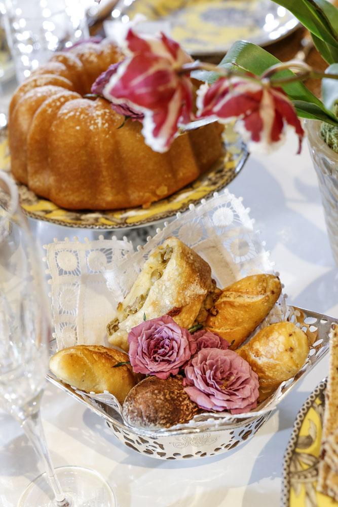 pães artesanais da Marie Marie Bakery