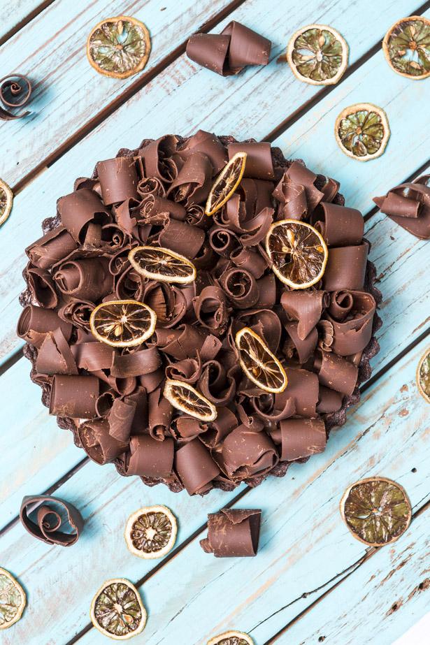 torta de chocolate Buffet Zest