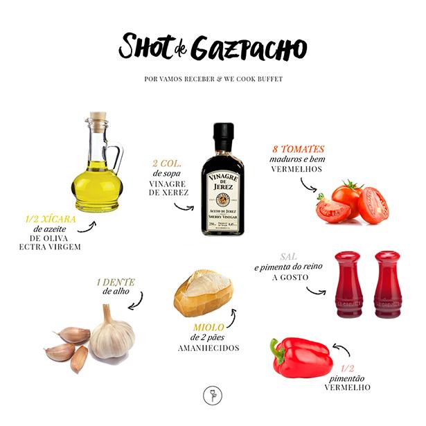 receita de shot de gazpacho