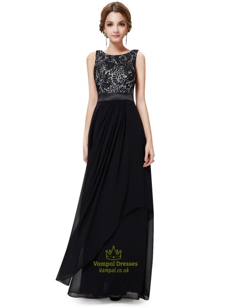 Black And White Dresses   Vampal Dresses Black And White Lace Prom Dresses Black Lace Top Cap Sleeves Evening Gown