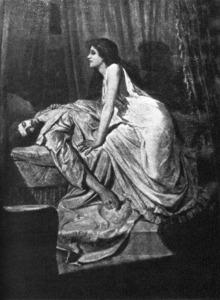 The Vampire (1897) by Philip Burne-Jones