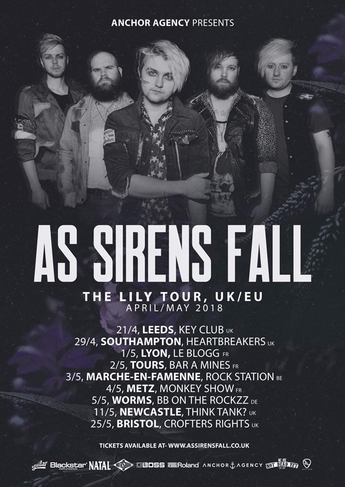 As sirens fall - Lily tour