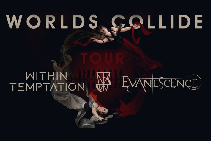 Worlds Collide: Within Temptation ed Evanescence
