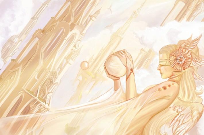 edenya di laura rizzoglio artwork Heaven di Sedeptra