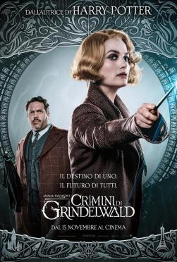 Animali Fantastici i Crimini di Grindelwald Queenie Jacob