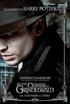 Animali Fantastici i Crimini di Grindelwald Credence