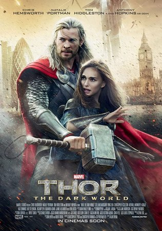 Natalie Portman and Chris Hemsworth in Thor- The Dark World (2013)