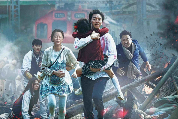 Il poster di Train to Busan.
