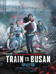 Il poster originale di Train to Busan