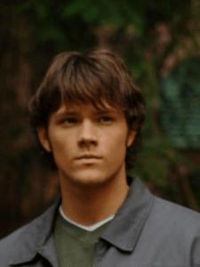 Jared Padalecki nel ruolo di Sam Winchester nella prima stagione di Supernatural.
