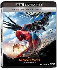 Spider-Man Homecoming (Blu-Ray 4k Ultra Hd+blu-Ray) di Jon Watts