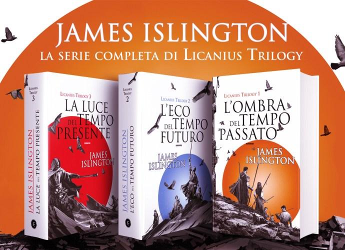 Licanius trilogy di James Islington