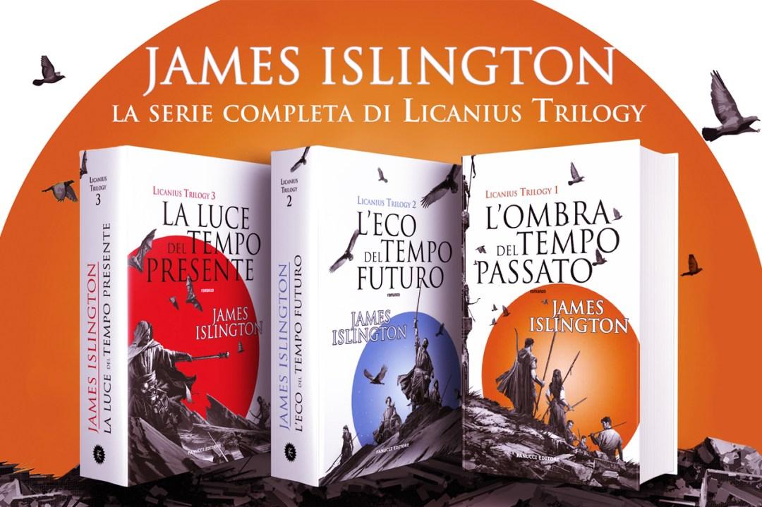 Licanius trilogy di James Islington in