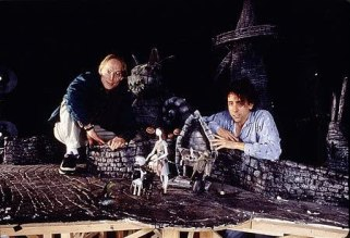 Tim Burton and Henry Selick in The Nightmare Before Christmas (1993)
