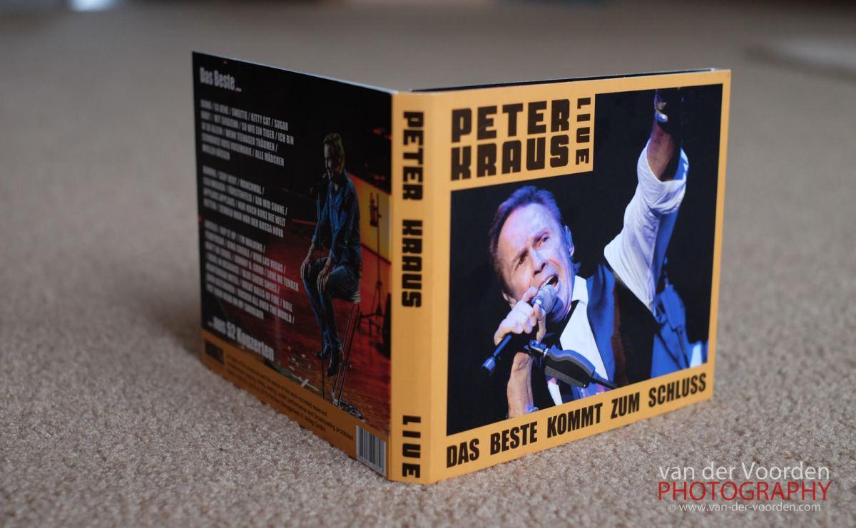"2015 PETER KRAUS LIVE DOPPEL CD ""Das Beste kommt zum Schluss"""