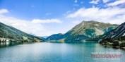 Reschensee mit Mitterkopf (2750 m)