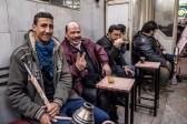 Fotoshooting in einer Café/Shisha Bar