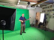 Videodreh im Greenroom