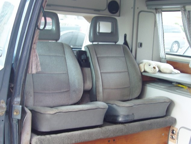 Front Seats As Back Seats Mod Vanagon Hacks Amp Mods