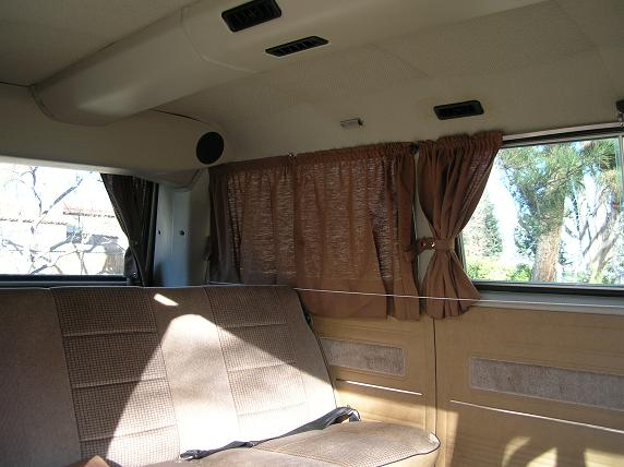 Adding Curtains To A Non Camper Vanagon Hacks Mods